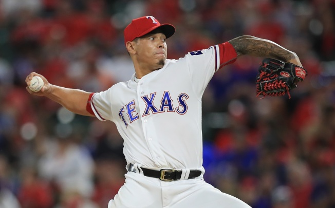 Rangers Place Reliever Kela on D.L. with Shoulder Soreness