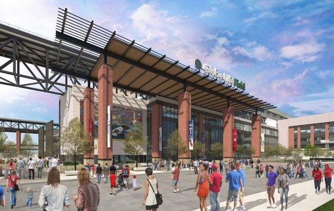 Rangers, HKS Release New Renderings, Construction Details on Globe Life Field