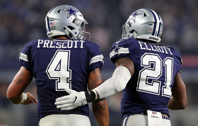 Dak Prescott Sends Ezekiel Elliott Supportive Text Message