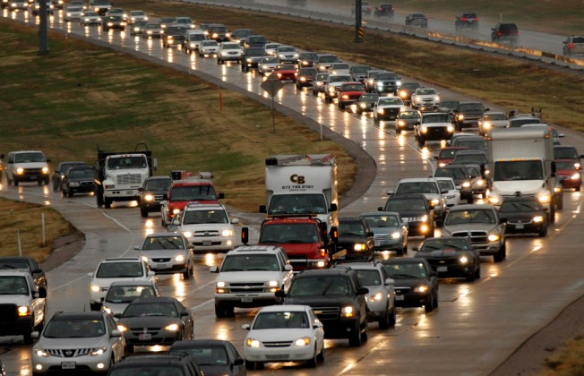Once TxDOT Opened Up SH 161 Shoulders, Traffic Started Sailing