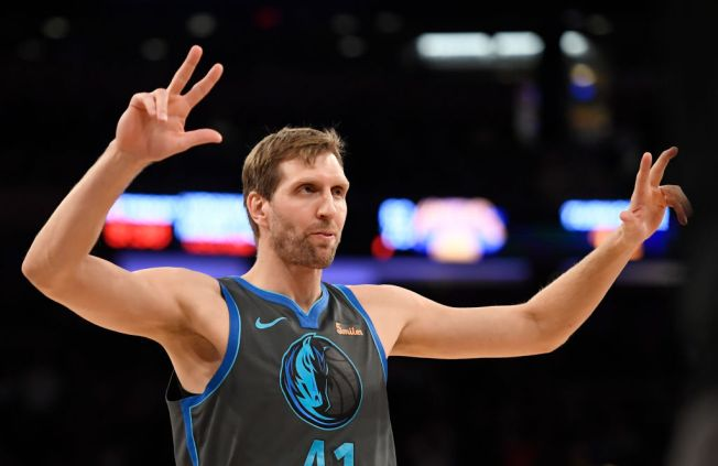 Dirk, Doncic Help Mavs Rout Knicks at Madison Square Garden