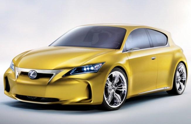 Lexus Unveils Five-Door Hybrid Concept