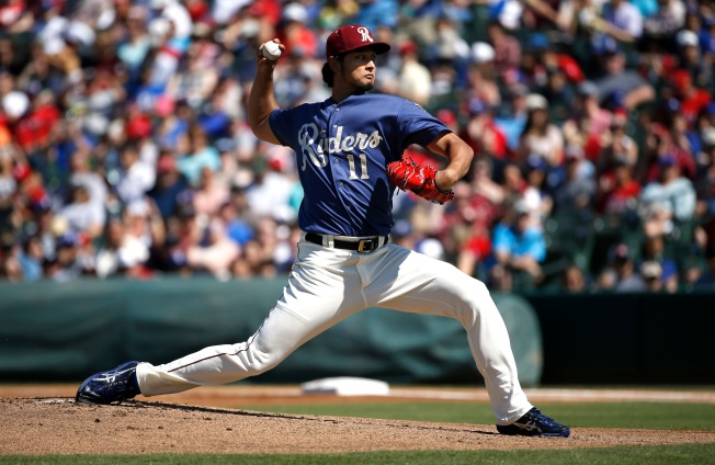 News Alert: Yu Darvish is Ready
