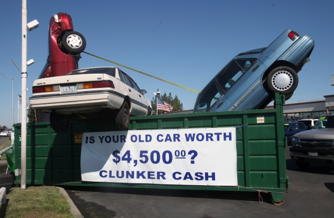 Cash for Clunkers Cause Car Donations to Crash