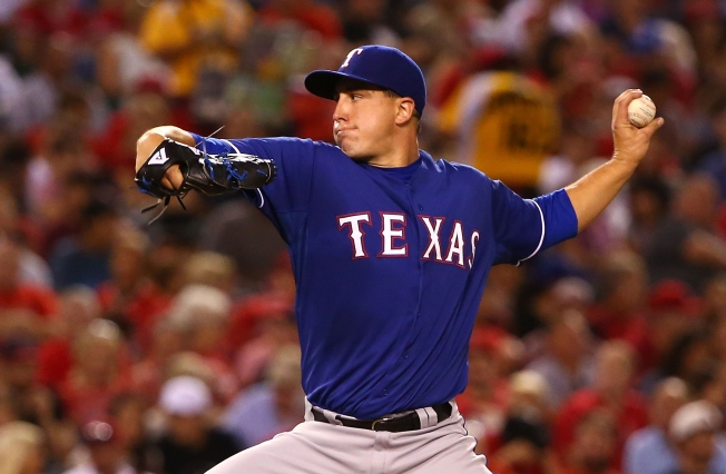 Holland Steller Against Angels in Rangers' 2-1 Win
