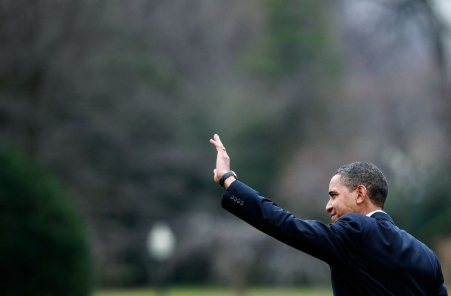 """Obama: Not Showing Talks a """"Mistake"""""""