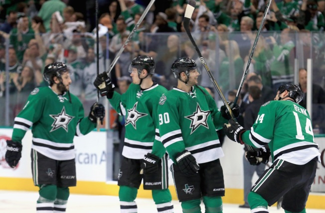 Stars Beat Wild 2-1 for 2-0 Series Lead - NBC 5 Dallas-Fort Worth 419820716