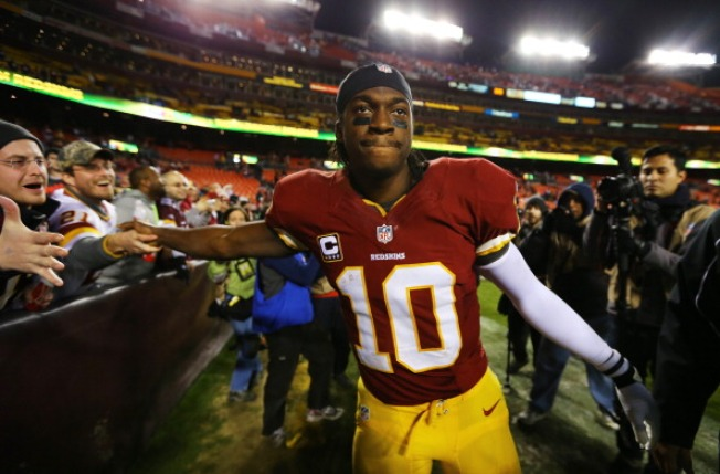 Texas Legislature Honors RG3