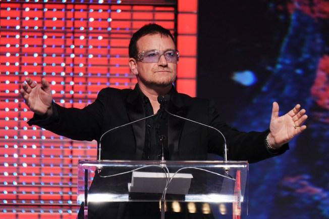 Bono's Top 10 List for Saving the World