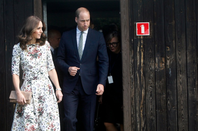 Charlotte and George join parents for Polish royal visit