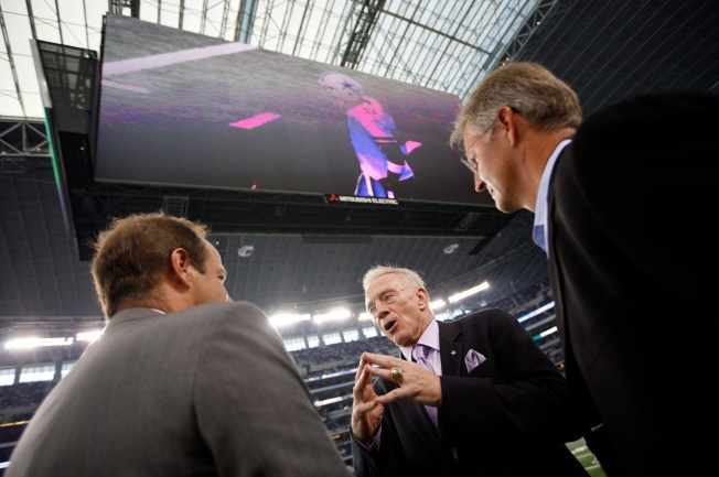 Politics at Jerry World? Maybe