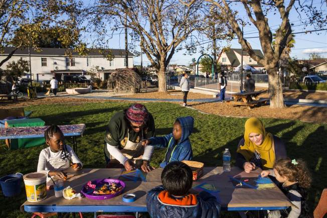 California Group Remaking Tough City, One Park at a Time