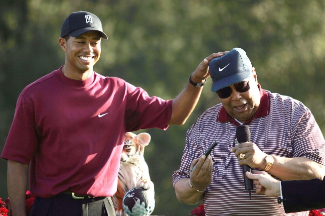 Woods' High School Sweetheart: Tiger Wrecked By Dad's Affairs