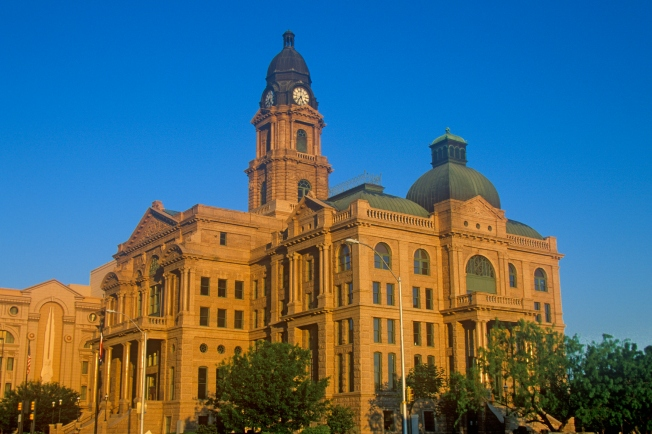 Historic Tarrant Courthouse to Get Facelift
