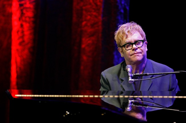 Elton John's Partner Explains Why He Played for Rush Limbaugh