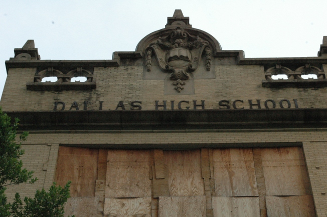Old Dallas High School is Under Contract