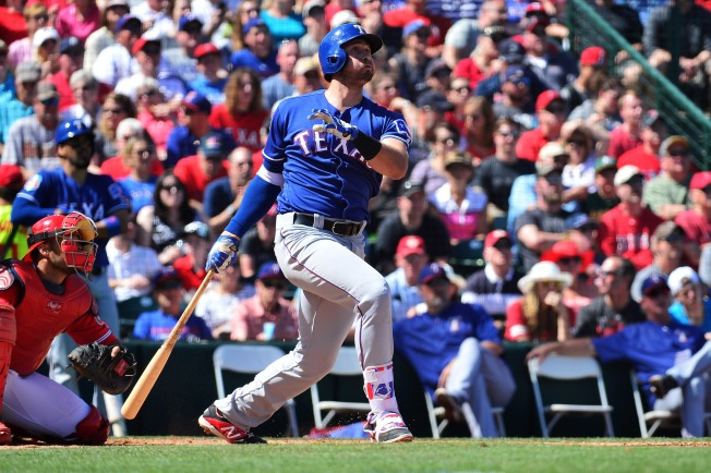 Gallo Returns to the Rangers Lineup