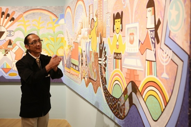 Hopi Mural at Dallas Museum of Art Reflects Universal Human Odyssey
