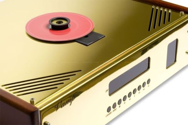 $7,960 Gold-Plated CD Player a Total Waste of Money