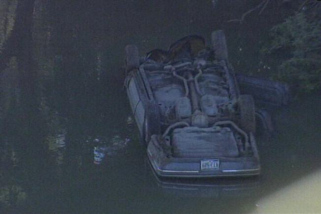 Driver Injured After Careening into Trinity River