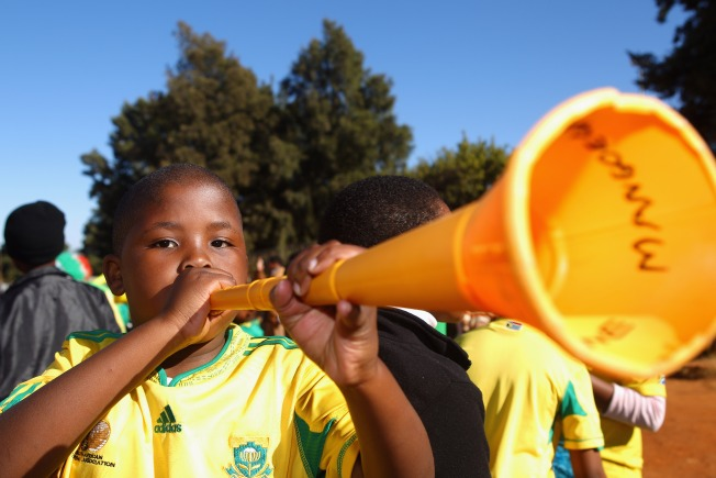 It Was Only a Matter of Time: The Vuvuzela Song