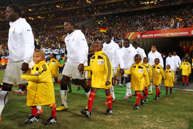 Children a Key Part of The World Cup