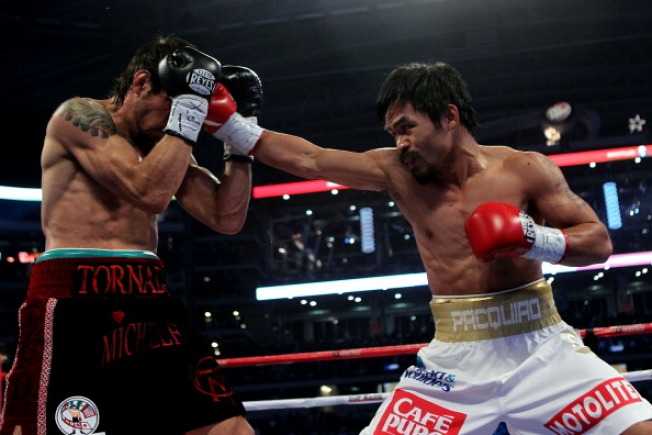 Pacquiao in Pain