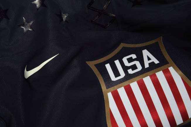 USA Hockey Unveils 2014 Olympic Jerseys
