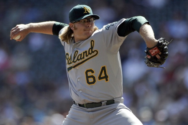 Rangers Bring In Former A's Pitcher