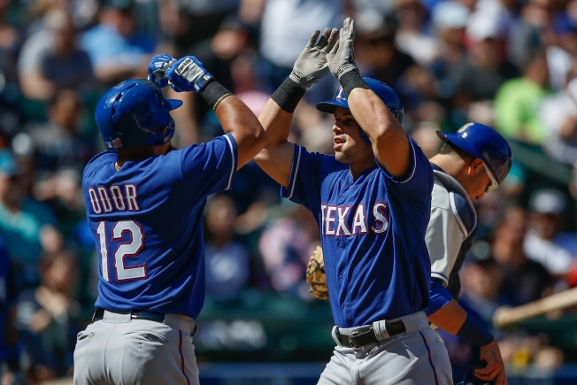 Odor Sparks Big Inning, Shows Weakness