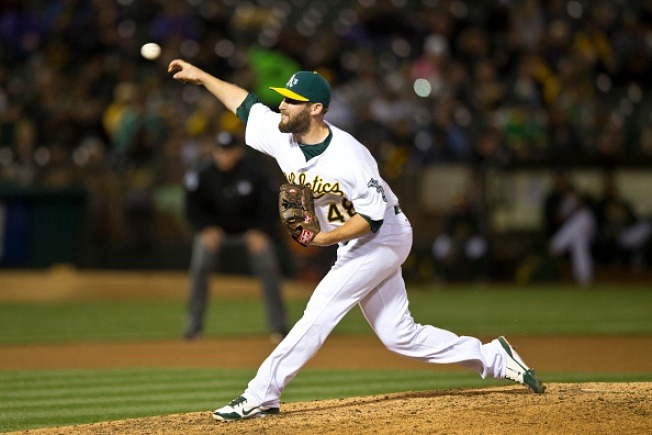 A's Call Up Righty Reliever Chad Smith, Demote Ryan Cook