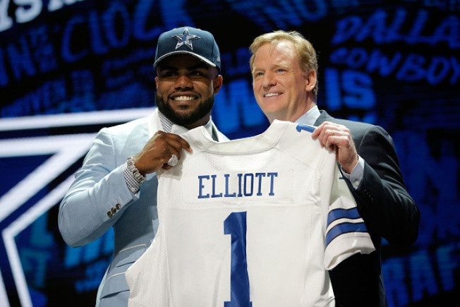 Goodell Addresses Elliott Suspension, National Anthem Protests