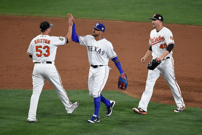 Even After Reeling, Rangers Exit Break as AL's Best