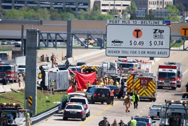 Third Passenger In Bus Crash Dies