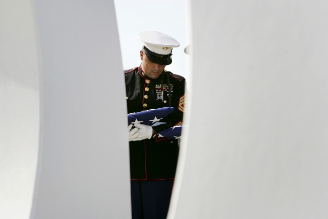 "Marine Killed Helping Crash Victims Called ""Hero"""