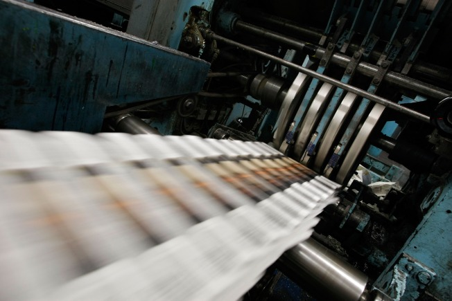 Sun-Times Files for Bankruptcy