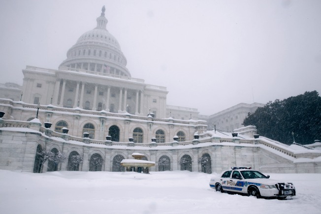 Record Snowfall Buries Climate Bill But Sparks Debate