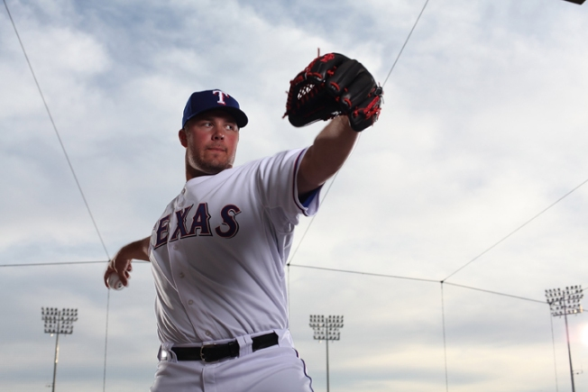 Hunter Pitches Rangers Over Orioles