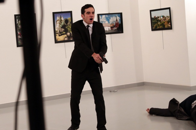 Russian Ambassador to Turkey shot dead