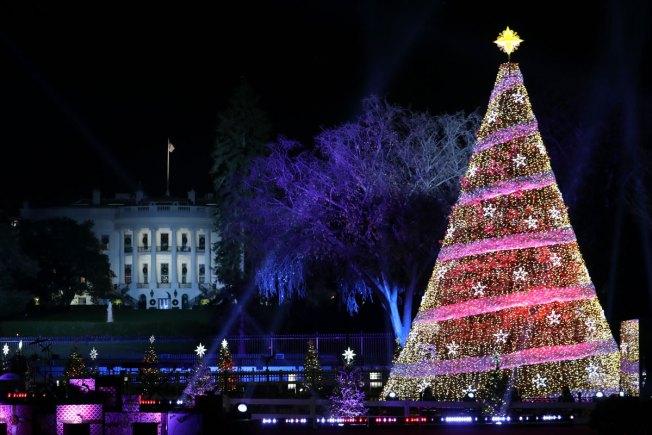 [NATL] PHOTOS: National Christmas Tree Lightings Through the Years