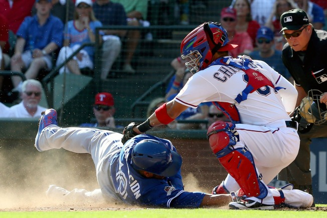 Chirinos Hoping to Solidify Role as Rangers' Catcher