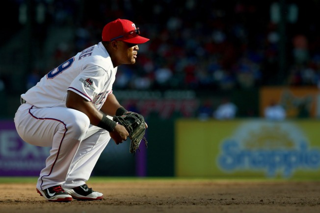 Beltre Due for a Day Off