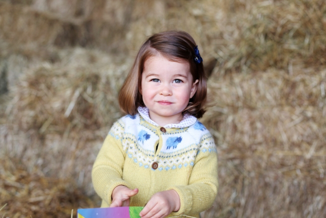 Kate Middleton Releases New Photo Of Princess Charlotte