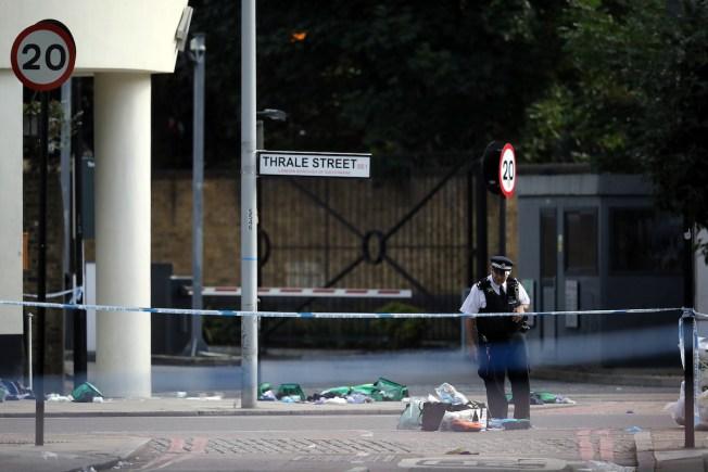 UK Police: 6 Hurt as Vehicle Crashes Into Pedestrians