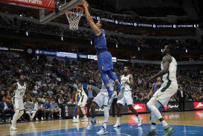 Mavericks Stop 4-game Slide With Win Against Bucks