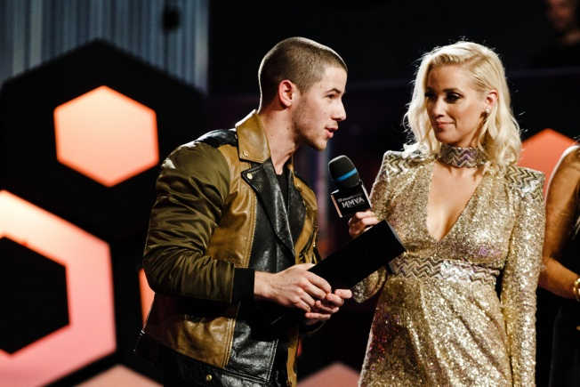 iHeartRadio MMVA's Awards: Nick Jonas Honors Orlando Victims
