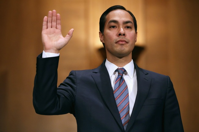 Cornyn Shows Support for Julian Castro as Hearing Opens