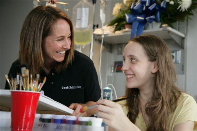 Cook Children's Lifts Patients Spirits Through Art