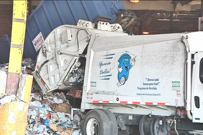 Recycling Crash Hits Dallas