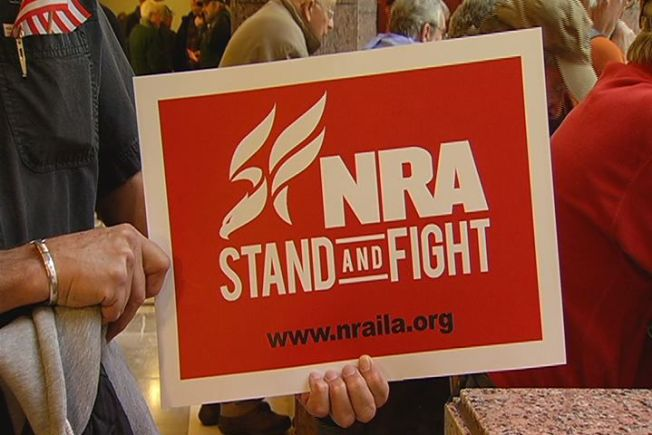 NRA Calls 'Open Carry' Rallies 'Downright Weird'